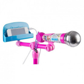 MAGGIE & BIANCA Smoby Microphone Sur Pied Karaoke