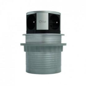 OTIO Bloc escamotable compact multiprise 4 prises