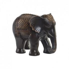 Figurine Eléphant en résine - 29,5 x 21,5 x 23 cm