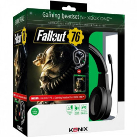 Casque MS-400 + Fallout 76 sur Xbox One