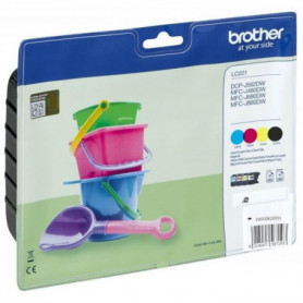 BROTHER Pack 4 cartouches - Noir, Magenta, Cyan, Jaune
