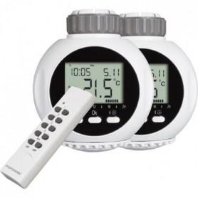 SMARTWARES Kit de 2 valves thermostatiques