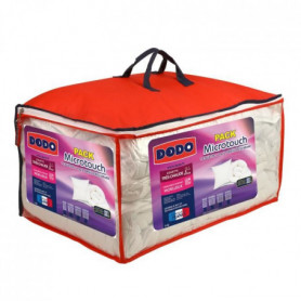 DODO Pack Microtouch - 1 couette 200x200 cm + 1 oreiller
