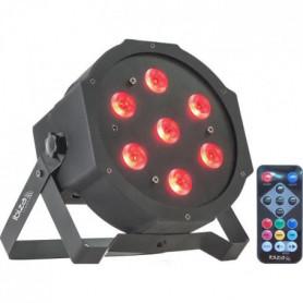 IBIZA LIGHT PARLED710 Projecteur a LED 7 x 10W RGB