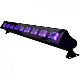 IBIZA LED-UVBAR Barre a LED UV 9x3W