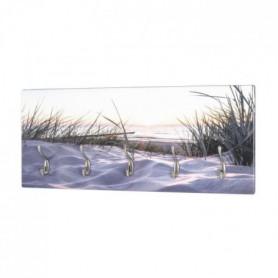 Patere murale, MDF, Imprimé par UV , 5 Crochets