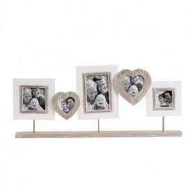 IMAGINE Cadre photo multivues Love 67x30 cm 5 vues
