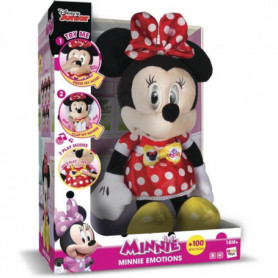 IMC TOYS Peluche interactive sonore Minnie Emotion