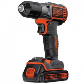 BLACK&DECKER Perceuse visseuse sans fil Autosense