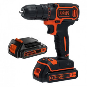 BLACK & DECKER Perceuse-visseuse sans fil BDCD18B
