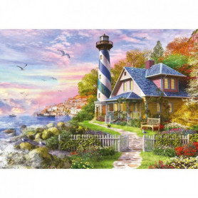 EDUCA Puzzle 4000 Phare A Rock Bay