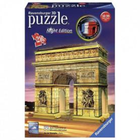 RAVENSBURGER Puzzle 3D Arc de Triomphe Night Edition