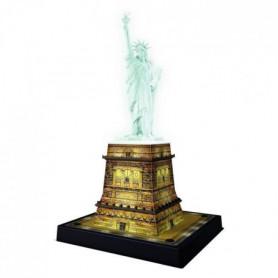 RAVENSBURGER Puzzle 3D Statue de la Liberté Night Edition