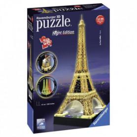RAVENSBURGER Puzzle 3D Tour Eiffel Night Edition
