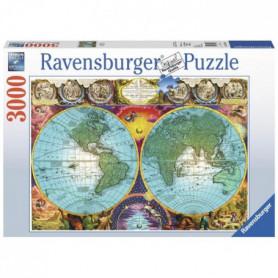 Puzzle Planisphere antique 3000 pcs
