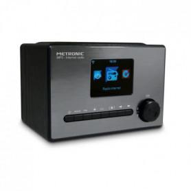 METRONIC 477260 Radio connecté - Noir et gris