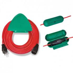 BRENNENSTUHL Rallonge électrique rouge 20m H05VV-F