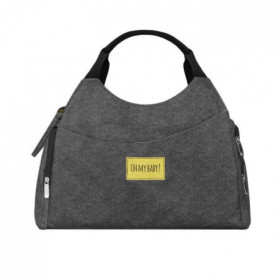 BADABULLE Sac a langer Multipocket - Gris chiné
