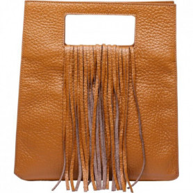 MAIA PARIS - GAIA Sac a main cognac