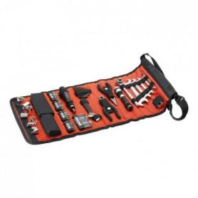 BLACK & DECKER Sacoche enroulable avec 71 accessoires