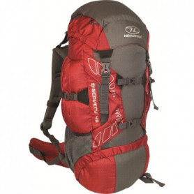 HIGHLANDER Sac a dos Discovery 45 L Rouge