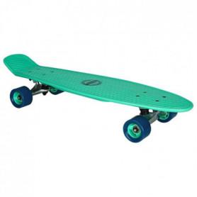 """NIJDAM Mini skate plastique - 28 """" - Vert"""