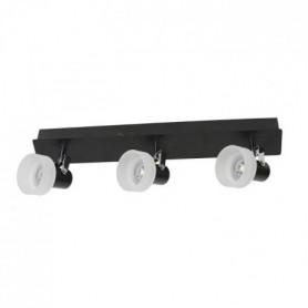 FUSION Spot 3 lumieres LED - L 44 x H 9 cm - Noir