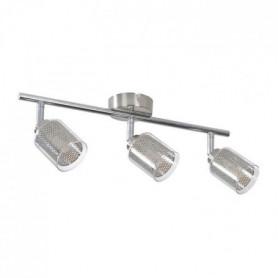 FUZO Spot 3 lumieres LED - L 8 x H 10 cm et L 41,5cm