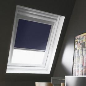 Store de fenetre de toit occultant bleu VELUX C02
