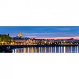 ARTIS Toile Bordeaux Le Matin - 30x97 cm