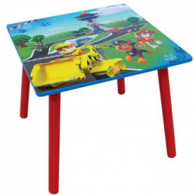 Fun House Pat Patrouille table carree + tabouret