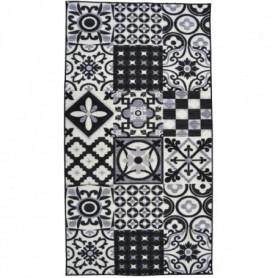 UTOPIA Tapis de couloir 80x300cm - Noir