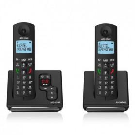 Alcatel F690 Duo Téléphone Sans Fil Répondeur Noir
