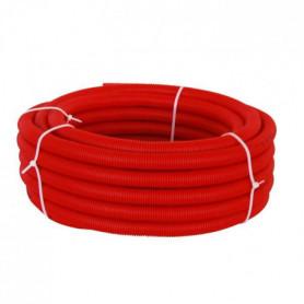 DIPRA Tube PER gainé rouge - Diametre 16 / 25m