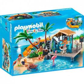 PLAYMOBIL 6979 - Family Fun - Ile avec Vacanciers