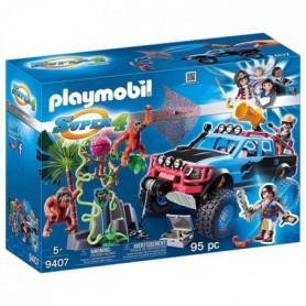 PLAYMOBIL 9407 - Super 4 - 4x4 avec Alex et Rock