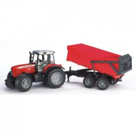 BRUDER - 2045 - Tracteur Massey Fergusson 7480