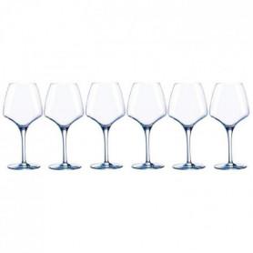 CHEF ET SOMMELIER Lot de 6 verres a vin OPEN'UP