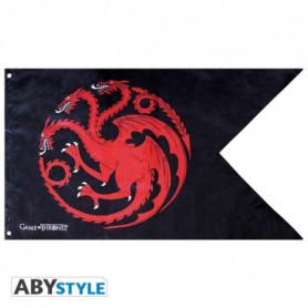 Drapeau Game Of Thrones - Targaryen