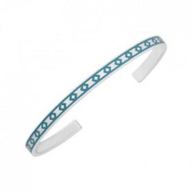LUYIA - Bracelet Femme - Bleu