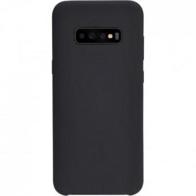 Coque Soft Touch pour Galaxy S10 - Noir