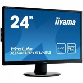 "IIYAMA Ecran 24"" - Full HD AMVA - LED - 4 ms - 75Hz 22109"