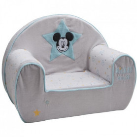 DISNEY Fauteuil club déhoussable Mickey My Story