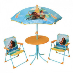 VAIANA Salon de jardin composé d'une table