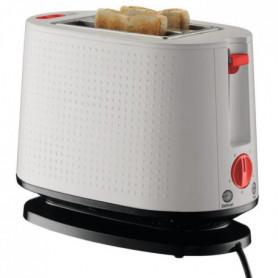 pain électrique double fente - 940 W - Blanc creme
