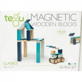 TEGU Classic Pocket 42 Pieces Blues