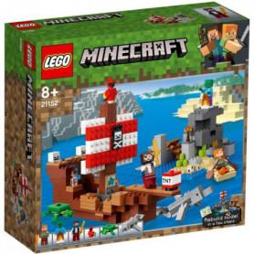 LEGO Minecraft? 21152 L'Aventure du Bateau Pirate