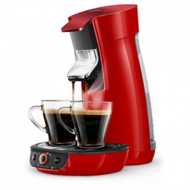 1 Machine a café a dosette Viva Duo Select - Rouge