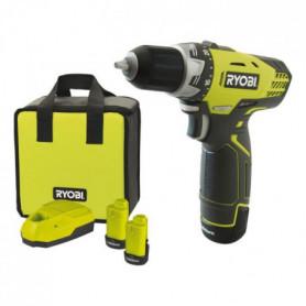 RYOBI Pack Perceuse-visseuse + 2 Batteries - 25 Nm