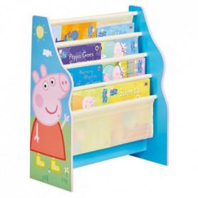 PEPPA PIG - Bibliotheque a pochettes pour enfants